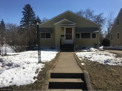Saint Cloud MN Single Family Home For Sale: $122,500