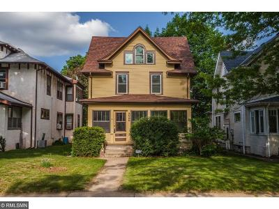Single Family Home For Sale: 3929 Pillsbury Avenue S