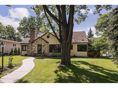 Saint Paul Single Family Home For Sale: 603 Mount Curve Boulevard