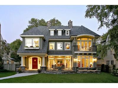 Saint Paul Single Family Home For Sale: 136 Mississippi River Boulevard S
