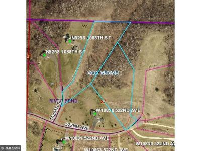 Prescott Residential Lots & Land For Sale: Lot 8 1088th St & Lot 10 522nd Ave
