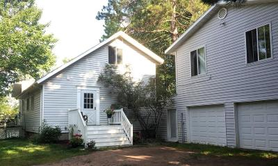Chisago County, Isanti County, Pine County, Kanabec County Single Family Home For Sale: 75771 Long Lake Road