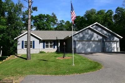 Pequot Lakes Single Family Home For Sale: 8271 Hidden Creek Court