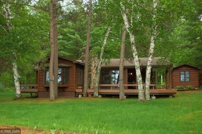 Pequot Lakes Single Family Home For Sale: 9790 S Kimble Road