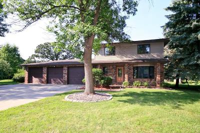 Hutchinson Single Family Home For Sale: 1239 Rolling Oaks Lane NW