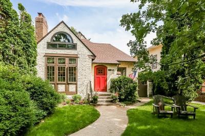 Saint Paul Single Family Home For Sale: 1319 Fairmount Avenue