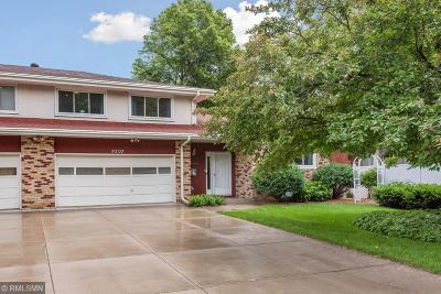 Edina Single Family Home For Sale: 5207 Grandview Lane