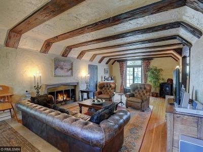 Saint Paul Single Family Home For Sale: 54 Mississippi River Boulevard N