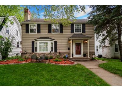 Minneapolis Single Family Home For Sale: 5408 Clinton Avenue S