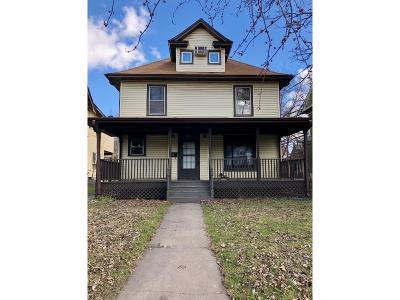 Saint Paul Single Family Home For Sale: 2083 Marshall Avenue