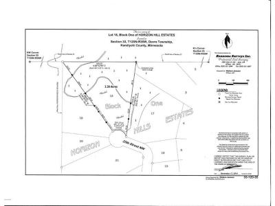 Kandiyohi County Residential Lots & Land For Sale: - 25th Street NW