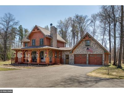 Nisswa Single Family Home For Sale: 10841 County Road 118