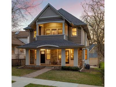 Minneapolis Single Family Home For Sale: 3810 Upton Avenue S