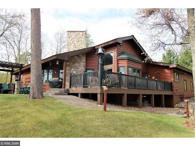 Lake Shore Single Family Home For Sale: 8012 Lost Lake Road