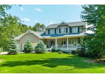 Ham Lake Single Family Home Contingent: 4444 161st Lane NE