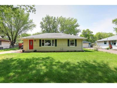 Coon Rapids Single Family Home Contingent: 11664 Ilex Street NW