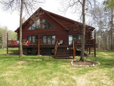Osage, Park Rapids, Ponsford, Akeley, Menahga, Nevis Single Family Home For Sale: 33750 535th Avenue