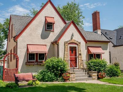 Saint Paul Single Family Home For Sale: 1554 Pascal Street N