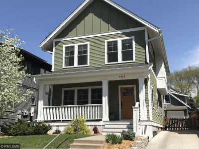 Minneapolis Single Family Home For Sale: 4415 Zenith Avenue S