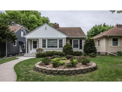 Minneapolis Single Family Home For Sale: 5641 Morgan Avenue S