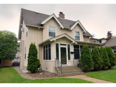 Minneapolis Single Family Home For Sale: 4825 Queen Avenue S