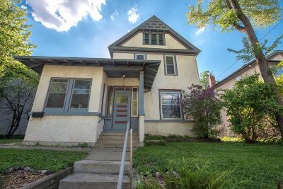 Minneapolis Multi Family Home For Sale: 3420 Pleasant Avenue