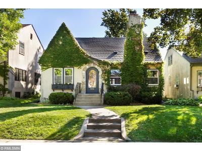 Minneapolis Single Family Home For Sale: 5241 Knox Avenue S