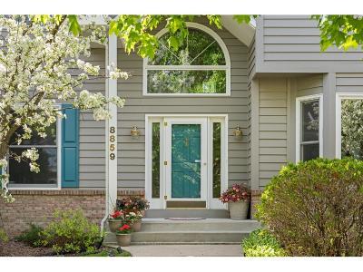 Eden Prairie Single Family Home For Sale: 8859 Flesher Circle
