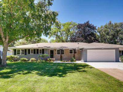 Edina Single Family Home For Sale: 5920 Ewing Avenue S