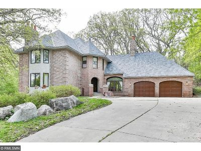 Fridley Single Family Home For Sale: 1418 W Danube Road