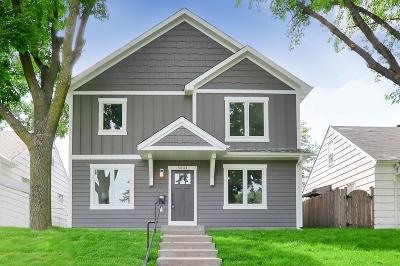Minneapolis Single Family Home For Sale: 5644 Irving Avenue S
