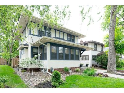 Minneapolis Single Family Home For Sale: 5009 Lyndale Avenue S