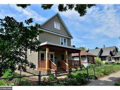 Minneapolis Multi Family Home For Sale: 616 Fillmore Street NE