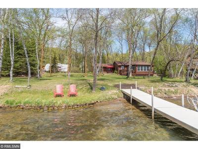 Pequot Lakes Single Family Home For Sale: 34590 Kimble Shores Drive