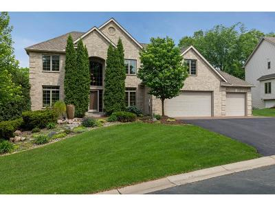 Wayzata, Plymouth Single Family Home For Sale: 4140 Ives Lane N