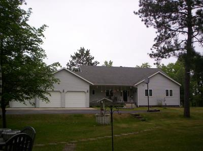 Osage, Park Rapids, Ponsford, Akeley, Menahga, Nevis Single Family Home For Sale: 13367 Book Trail