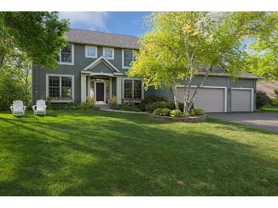 Wayzata, Plymouth Single Family Home For Sale: 3305 Xanthus Lane N