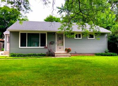Crystal Single Family Home For Sale: 5338 Lakeside Avenue N