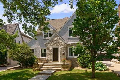 Edina Single Family Home For Sale: 4520 Bruce Avenue