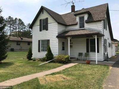 Pine City MN Single Family Home For Sale: $134,900