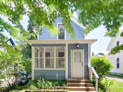 Minneapolis Single Family Home For Sale: 1837 Quincy Street NE