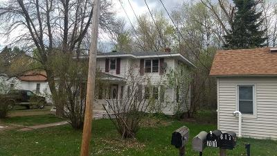 Moose Lake Single Family Home For Sale: 705 6th Street
