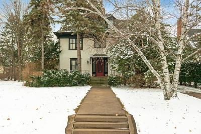 Saint Paul Single Family Home For Sale: 966 Summit Avenue