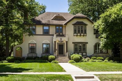 Edina MN Single Family Home For Sale: $1,100,000