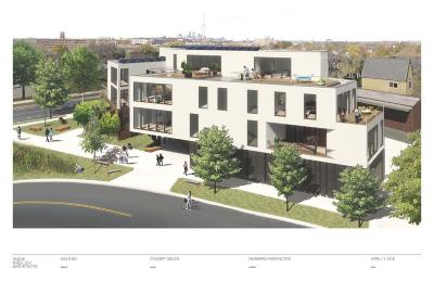 Saint Paul Condo/Townhouse For Sale: 842 Raymond Avenue #2.3