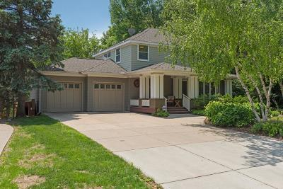 Edina MN Single Family Home For Sale: $830,000