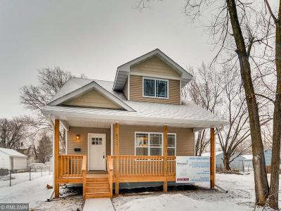 Anoka County, Carver County, Chisago County, Dakota County, Hennepin County, Ramsey County, Sherburne County, Washington County, Wright County Single Family Home For Sale: 4526 Aldrich Avenue N