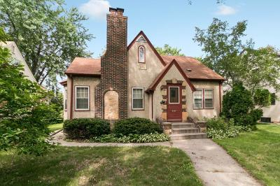 Minneapolis Single Family Home For Sale: 4337 Washburn Avenue N