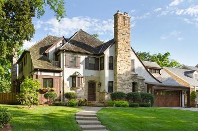 Edina Single Family Home For Sale: 4805 Sunnyside Road