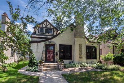 Minneapolis Single Family Home For Sale: 5233 Chowen Avenue S